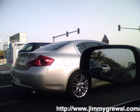 2008 Infinity G35 Sedan spy picture taken in Dubai