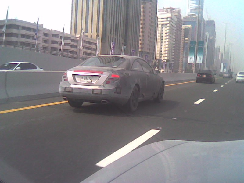 2007 Mercedes Benz CL-Class prototype in Dubai